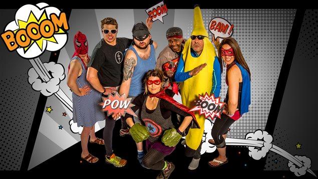 L'équipe des supermalins