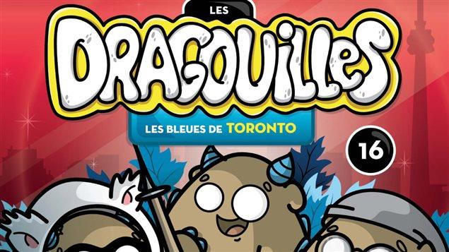 La couverture du 16e tome des Dragouilles