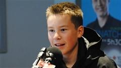 Il y a deux semaines, au Hickory Motor Speedway, en Caroline du Nord, Raphaël Lessard a remporté une course de stock car