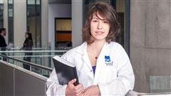 C�line Laumont, doctorante en biologie int�grative � l'Universit� de Montr�al.