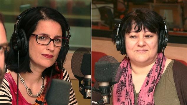 Céline Lafontaine, professeure au département de sociologie de l'Université de Montréal et Elisabeth Abergel, professeure au département de sociologie de l'UQAM