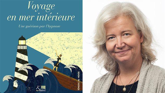 L'auteure belge Virginie Tyou et la couverture de son livre