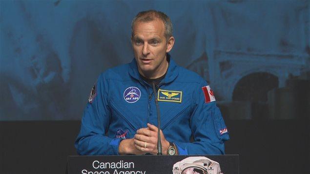 David Saint-Jacques s'envolera vers la Station spatiale internationale en 2018.