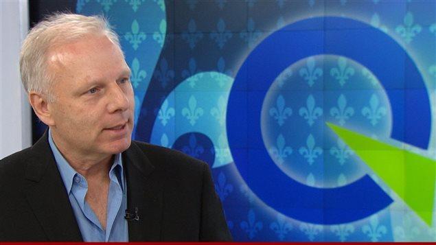 Jean-François Lisée, candidat dans la course à la direction du Parti québécois