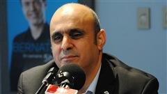 Abdallah Homsy, porte-parole du Regroupement des intermédiaires du taxi de Québec