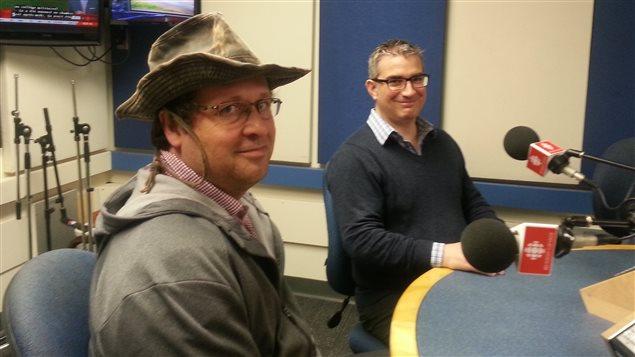 Éric Langevin et Pascal Sirois