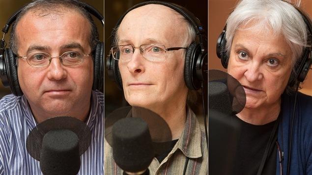 Sodiane Chouiter, François Daoust et Raymonde Provencher