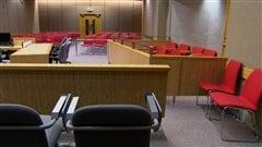 Une salle au palais de justice