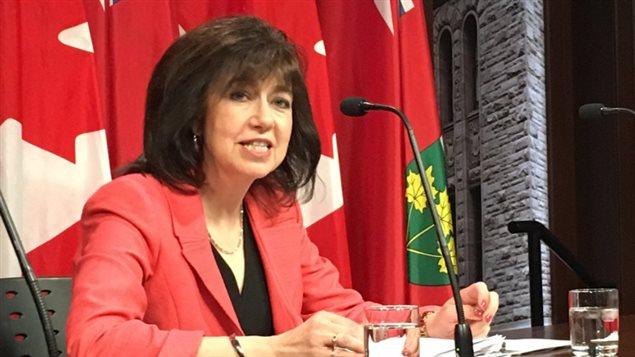 La vérificatrice générale de l'Ontario Bonnie Lysyk