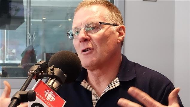 Danny Doyle, propriétaire de Calèches du Vieux-Québec