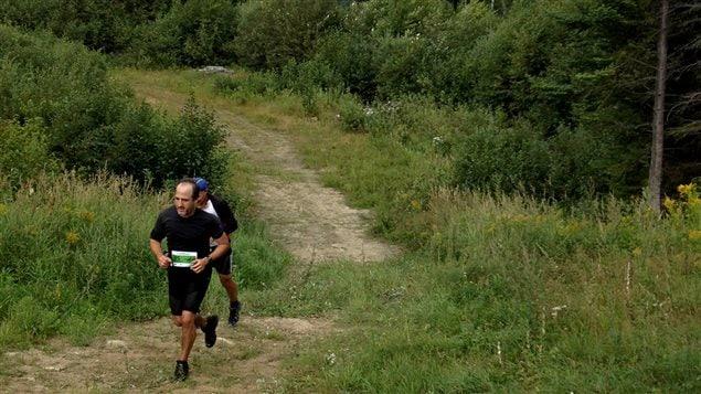 Antoine Robitaille, au 10 km de l'Ultra-Trail Harricana en septembre 2013