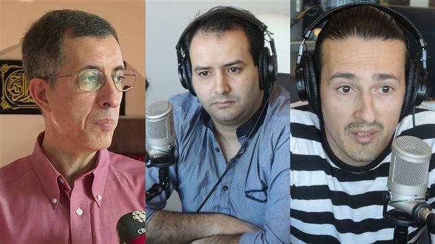 Zain Esseghaier, Saad Mrizek et Mohamed Ali