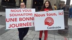 Ce matin les bénévoles de Centraide de la région de Québec et de Chaudière-Appalaches vous souhaitent une bonne journée pour remercier tous les donateurs sans qui le quotidien de nombreux organismes serait bien différent.