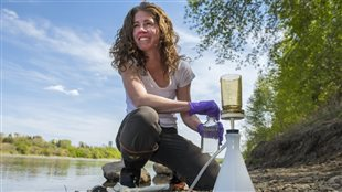 Suzanne Tank (PhD) assistant professor at the University of Alberta discovered carbon levels have been rising dramatically in the Mackenzie River