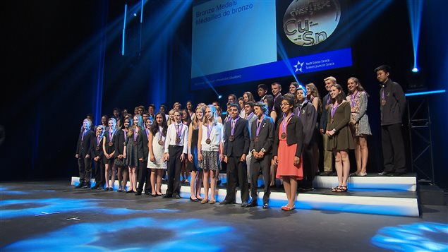 Les lauréats de l'Expo-science pancanadienne 2016