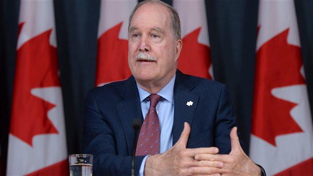 Le commissaire aux langues officielles Graham Fraser.