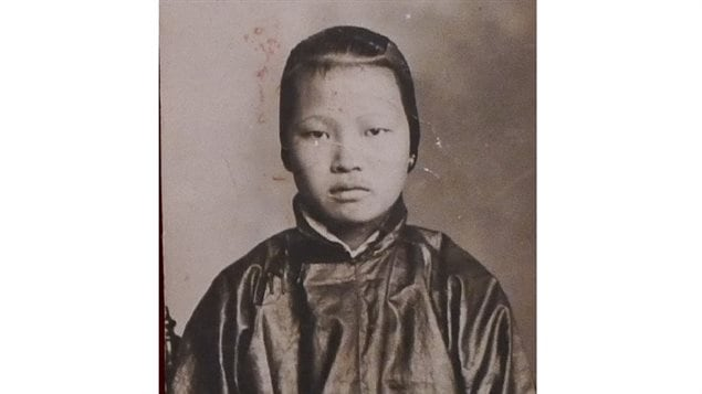 Quongying Wong, Immigration Photo, 1921, China.