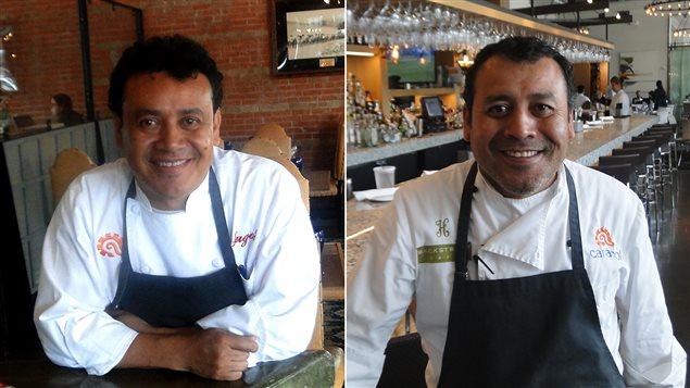 Les frères restaurateurs de Houston, Hugo et Ruben Ortega