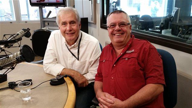 Daniel Mathieu et Richard Groulx.