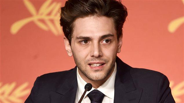 Xavier Dolan répond aux questions des médias après avoir remporté le Grand Prix à Cannes