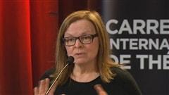 Marie Gignac, directrice artistique du Carrefour Carrefour international de Théâtre