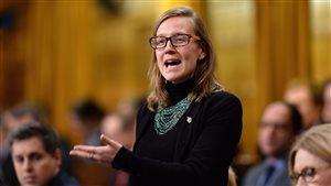 Karina Gould au Parlement