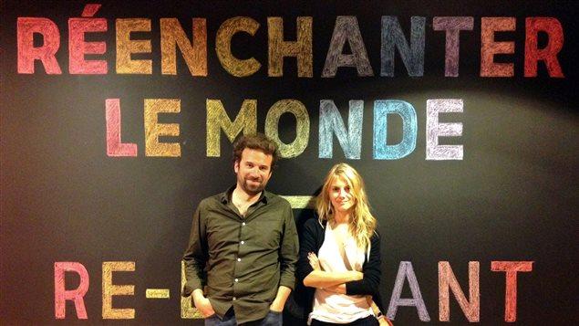 Cyril Dion et Mélanie Laurent