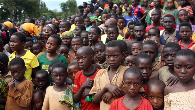 Africa hosts one-third of the world's refugees including these Burundians who have fled to a camp in Tanzania.