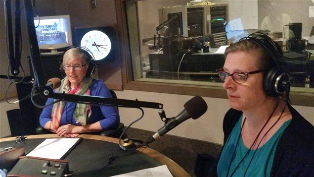 Sharon Pulvermacher et Denise Séguin-Horth