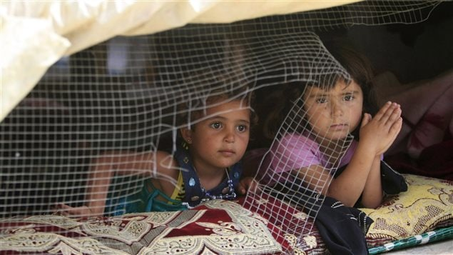 Some Syrian children have made it into refugee camps but thousands others are missing.
