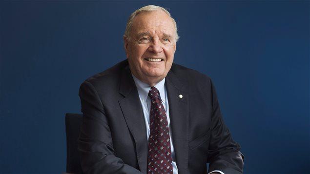 L'ancien premier ministre du Canada, Paul Martin