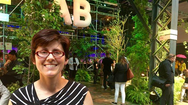 Caroline Voyer, directrice générale du Conseil québécois des événements écoresponsables
