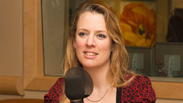 Maude Bonenfant, professeure au Département de communication sociale et publique de l'UQAM
