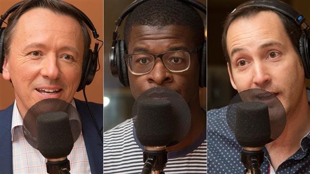 Marc-Andr� Masson, Fabrice Vil et Jean-Patrick Balleux