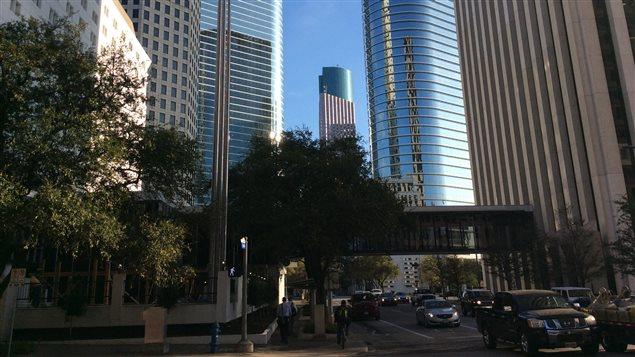 Le ville de Houston au Texas.