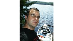 Author Gregory Klages, shown in Algonquin Park 2008, investigates the known and the rumour of the long-standing mystery of Tom Thomson's death.