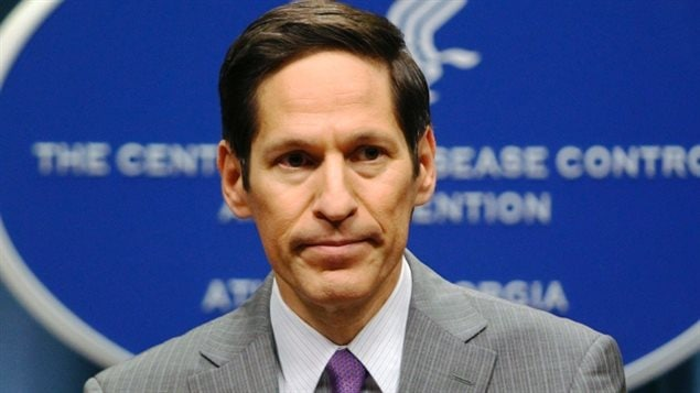 Dr Tom Frieden, directeur du Centers for Disease Control and Prevention. Photo CBC