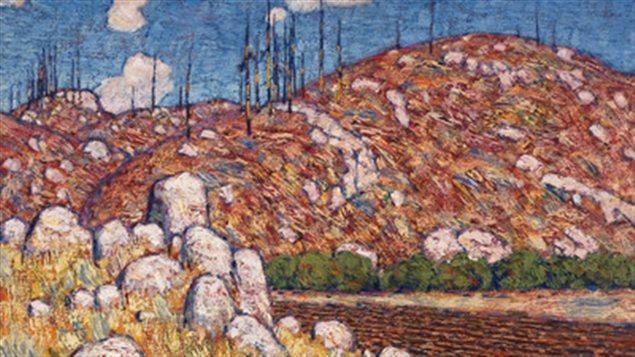 Lawren Harris- Laurentian Landscape 1913-14 smashed pre-sale estimates of $1.2 to $1.6 million instead selling for over $2million