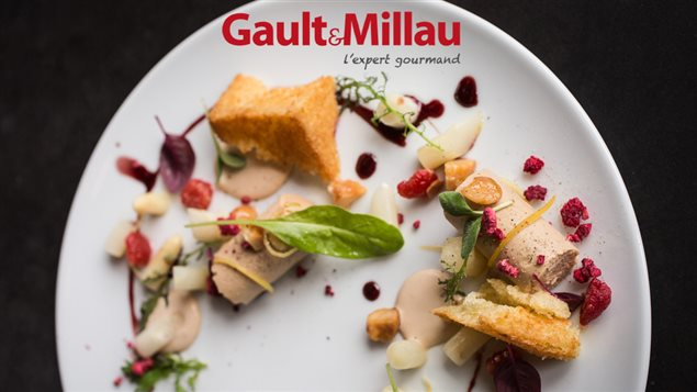 Photo tir�e du guide gourmand Gault et Millau, Montr�al 2016