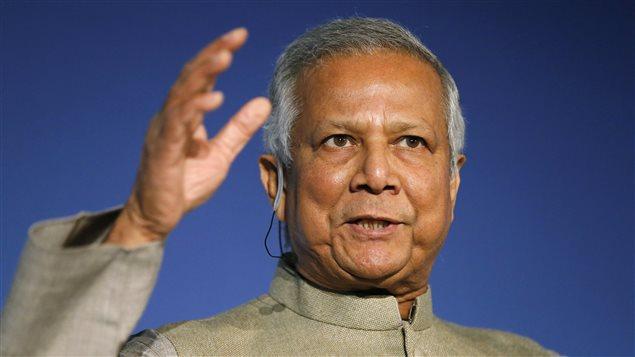 Muhammad Yunus r�cipiendaire du Prix Nobel de la Paix en 2006