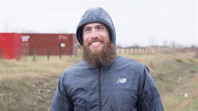 Cédric Bouillon a parcouru 600 km en 15 jours.