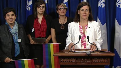 Absence d'élus libéraux gais : pas de problème pour Stéphanie Vallée