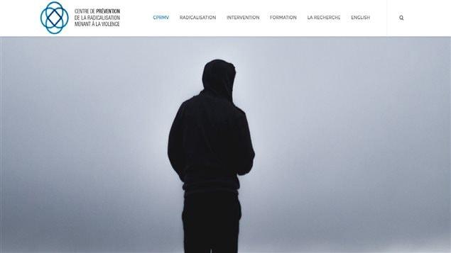Site internet du Centre de prévention de la radicalisation menant à la violence.
