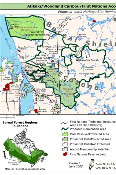 Recommendation of boreal forest for world heritage status the proposed area of over 33000 sqkm is home to many species of mammals gumiabroncs Images