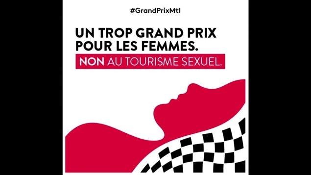 Une campagne contre l'exploitation sexuelle pendant le Grand Prix de Formule 1