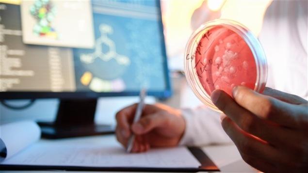 Un chercheur en laboratoire