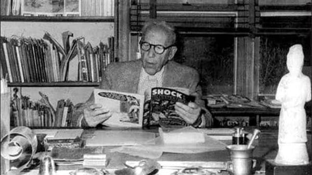 American psychiatrist Dr. Fredric Wertham began an anti-comic book campaign in the 40's which grew in the 1950's creating a serious backlash against the genre in the US and Canada