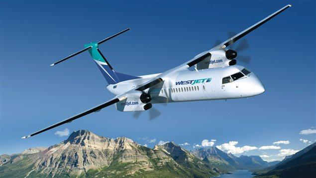 Un Q400 de Bombardier