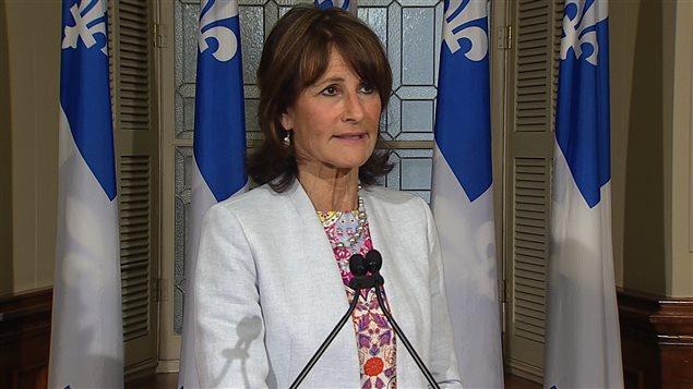 كاثلين فيل وزيرة الهجرة والتعددية والمجتمع الاحتوائي في كيبك