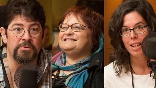 Guy Simard, Carole Cartier et Raphaëlle Mercier